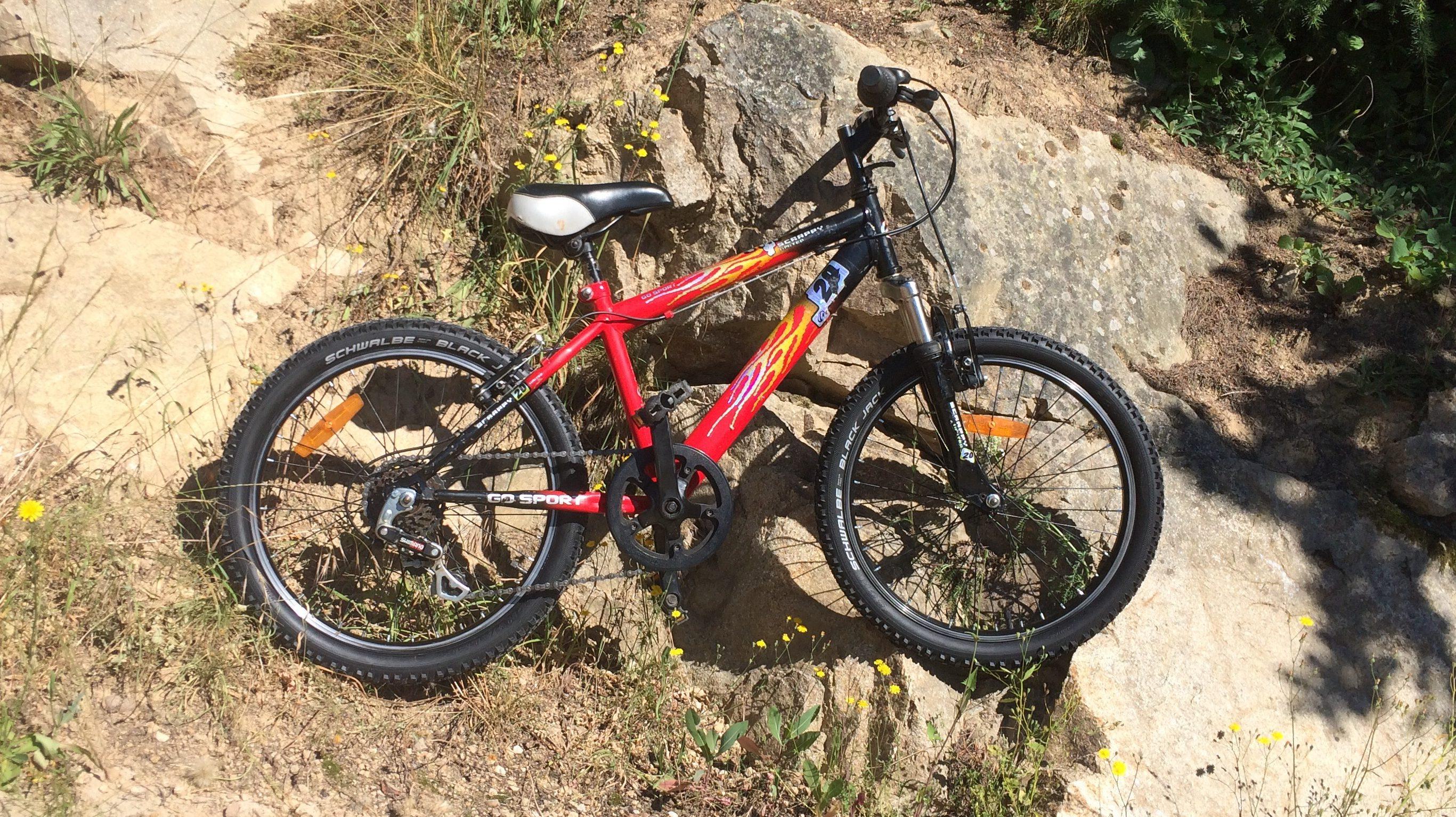 Occasion Vélo enfant 20 pouces GoSport